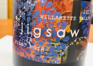 2017 Willamette Valley Jigsaw Pinot Noir