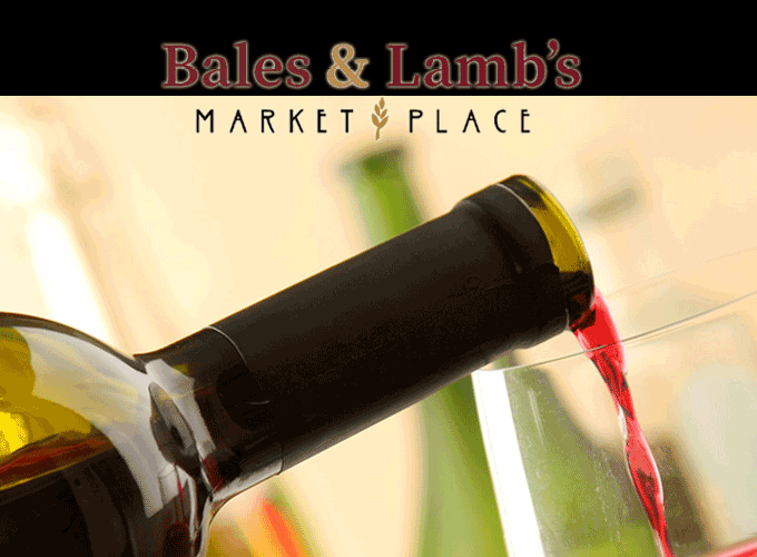 Wine Tasting with Vertical Wine and Beer at Bales & Lambs Market Place in Cedar Mills