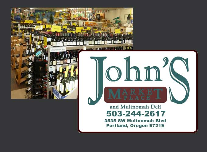 Join Vertical Wine and Beer at John's Marketplace for a wine tasting!